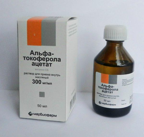 Токоферола ацетат (витамин Е)
